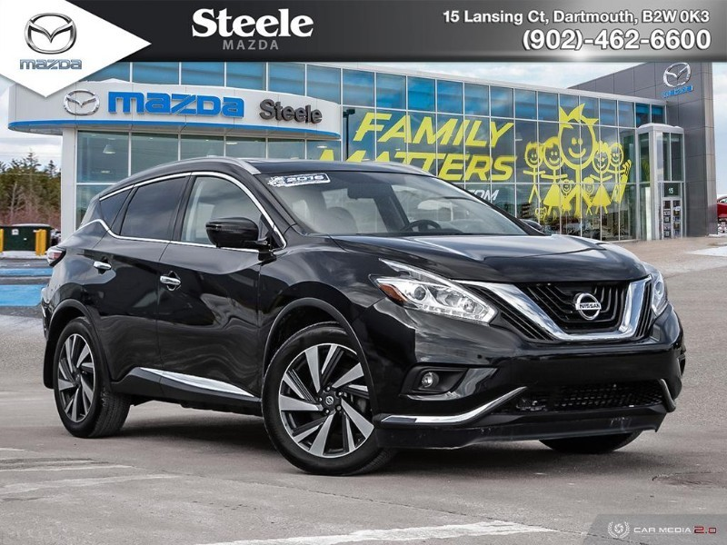 Pre-Owned 2016 nissan murano platinum w/leather and sunroof