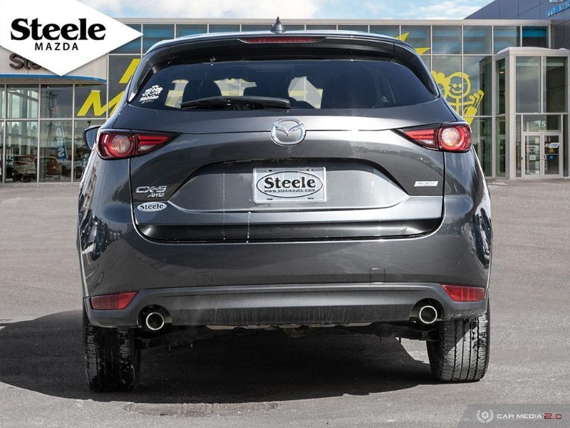 Pre-Owned 2018 mazda cx-5 gt w/ leather navigation